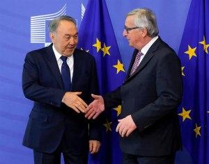 Нурсултан Назарбаев в Брюсселе