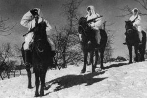 Шадман Алибеков. Командир взвода конной разведки 1073 сп