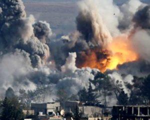 Сирийская ракетная атака