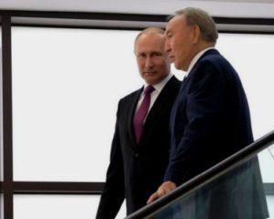 встреча президента Назарбаева с Владимиром Путиным