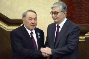 «Касым-Жомарт Токаев: Я советовался с Елбасы»