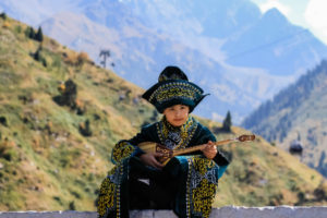 О вечных казахских темах